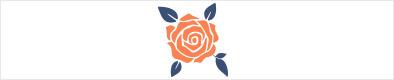 Symbol für das verschenken von Rosen