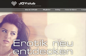 Screenshot Webseite JOYclub